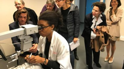 simulation chirurgie cataracte en ophtalmologie